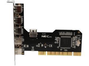 Syba SD-NECU2-3E1I 4-port (3+1) USB 2.0 PCI Card, NEC Chipset