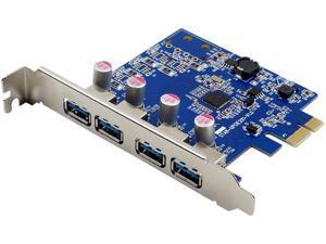 VisionTek 900870 4 Port USB 3.0 x1 PCIe Bus Powered Internal Card
