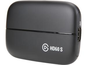 Elgato Game Capture HD60 S - Stream, Record and Share Your Gameplay in 1080p 60 FPS, Superior Low Latency Technology, USB 3.0, For PS4, Xbox One and Nintendo Switch
