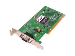 SIIG Low Profile PCI Single Serial (16550) Port, Universal PCI Card Model LP-P10011-S6