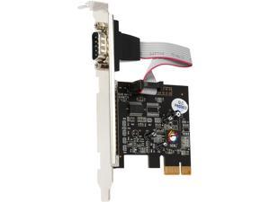 SIIG 1-Port RS232 Serial PCIe with 16950 UART Model JJ-E01111-S1
