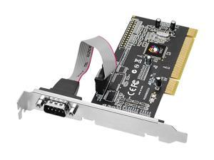 SIIG 1-Port RS232 Serial PCI with 16550 UART Model JJ-P01311-S1