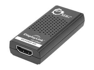 SIIG CE-H20W12-S1 USB 3.0 to HDMI with Audio External Video Card Adapter