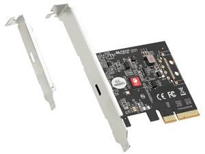 SIIG JU-P20D11-S1 Single Type-C USB 3.2 Gen 2x2 20Gbps PCIe Card