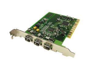 Adaptec 3-port 1394 host adapter for PCs and Macs Model 1890600-R