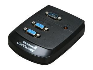 StarTech 2 Port Wall Mount VGA Video Splitter