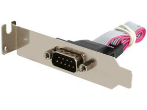 StarTech 9-pin Serial to 10-pin Header Slot Plate with Low Profile Bracket Model PLATE9MLP