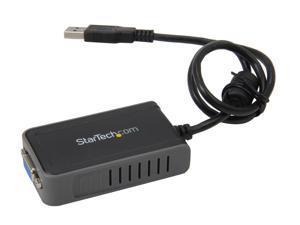 StarTech.com USB2VGAE2 USB to VGA Multi Monitor External Video Card Adapter - 1440x900 - USB to VGA External Graphics Card