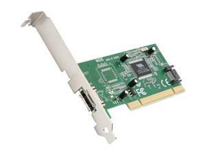StarTech.com 1 Port eSATA + 1 Port SATA PCI Controller Card w/ LP Bracket Model PCIESATA2I
