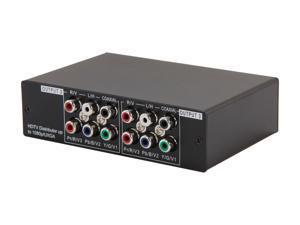 StarTech.com 3 Port Component Video Splitter with Digital Audio ST123HDA