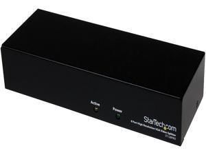 StarTech ST128PRO 8 Port High Resolution VGA Video Splitter - 300 MHz