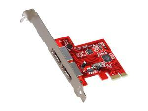 StarTech.com 2 Port SATA 6 Gbps PCI Express eSATA Controller Card Model PEXESAT32