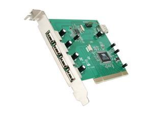 StarTech.com 7 Port PCI USB Card Adapter Model PCIUSB7