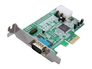 StarTech.com 2 Port Low Profile Native RS232 PCIE Serial Card with 16550 UART Model PEX2S553LP