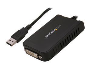 StarTech.com USB2DVIE3 USB to DVI External Video Card Multi Monitor Adapter - USB to DVI Adapter - USB 2.0 DVI Converter - 1920x1200