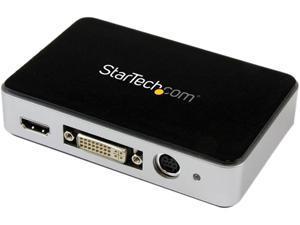 StarTech.com USB3HDCAP HDMI Video Capture Device - 1080p - 60fps Game Capture Card - USB Video Capture Card - with HDMI DVI VGA