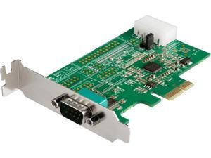StarTech.com PEX1S953LP 1 Port RS232 Serial Adapter Card with 16950 UART - PCI Express Serial Port Card - 921.4Kbps - Windows & Linux Compatible