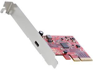 StarTech.com PEXUSB321C 1-Port USB 3.2 Gen 2x2 PCIe Card - USB-C SuperSpeed 20Gbps PCI Express 3.0 x4 Host Controller Card - USB Type-C PCIe Add-On Adapter Card - Expansion Card - Windows & Linux