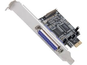 VANTEC 2-Port Parallel PCIe Host Card Model UGT-PCE20PL