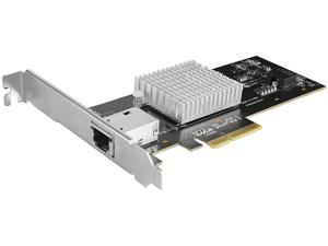 VANTEC UGT-PC200GNA 1-Port 10G Network PCIe Card With Intel X550-AT Chip