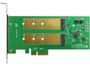 VANTEC UGT-M2PC300R Dual M.2 SSD RAID PCIe X4 Host Card