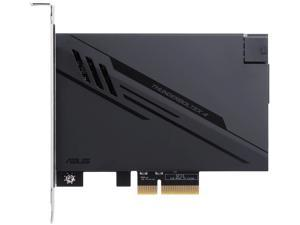 ASUS ThunderboltEX 4 with Intel Thunderbolt 4 JHL 8540 Controller, 2 USB Type-C ports, up to 40Gb/s Bi-directional Bandwidth and Incorporates DisplayPort 1.4 support, up to 100W Quick Charge