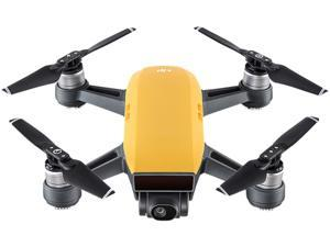 DJI Spark Palm Launch Quadcopter Drone with UltraSmooth Camera, Sunrise Yellow, CP.PT.000732