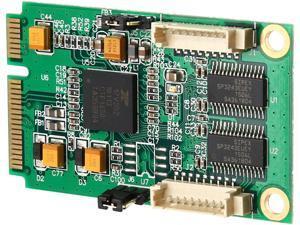 SYBA 2 Port Serial Mini PCI-e Controller Card (RS-232) Model SI-MPE15046
