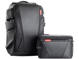 PGYTECH P-CB-020 Twilight Black Onemo Backpack 25L + Shoulder Bag (Twilight Black)