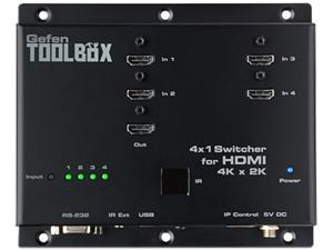 Gefen 4 x 1 Switcher for HDMI 4K x 2K GTB-HD4K2K-441-BLK