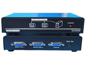 4xem 1X2 VGA Splitter 350MHz 4XVGASP3502