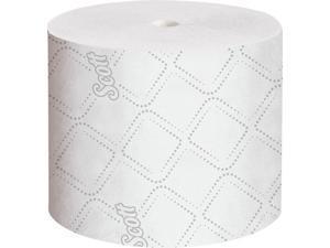 Scott Pro Paper Core High Capacity Bath Tissue (47305), 2-PLY, White, 36 Rolls / Case, 1,100 Sheets / Roll