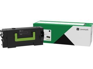 Lexmark 58D1H00 High Yield Return Program Toner Cartridge - Black