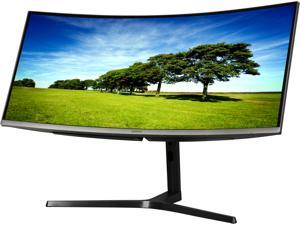 "Samsung 890 Series C34H890WJN Black 34"" Curved 3440x1440 WQHD sRGB 4ms 100Hz AMD Freesync Monitor, 300cd/m2, HDMI/DP/USB-C/USB Hub, fully adj stand, VESA Compatible"