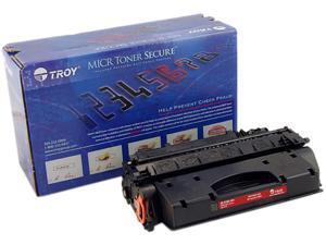Troy 02-81501-001 High Yield MICR Secure Toner Cartridge (Alternative for HP 05X/CE505X) - Black