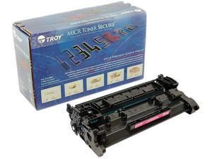 Troy 02-81575-001 MICR Secure Toner Cartridge (Alternative for HP 26A/CF226A) - Black