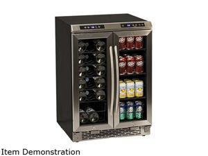 Avanti WBV19DZ Wine Cooler, Side-by-Side Dual Zone