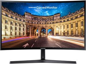 "SAMSUNG C24F396 24"" (23.5"" Viewable) Full HD 1920 x 1080 VGA, HDMI AMD FreeSync Flicker Free Low Blue Light LED Backlit Curved Gaming Monitor"