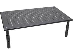 Tripp Lite Monitor Riser Stand Desktop Metal Height Adjustable Black 18X11in