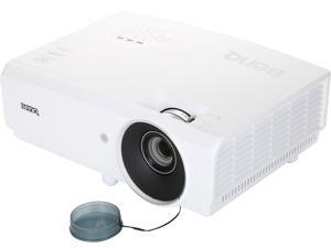 """BenQ MH741 Full HD 1080P Projector, 4000 ANSI Lumens, 10000:1 Contrast Ratio, 60""""-196"""" Image Size, D-Sub, HDMI x 2, USB, Composite Video, S-Video, Built-in Speaker"""