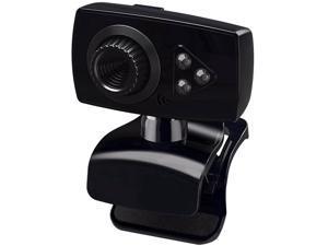 USB Webcam 3 LED Camera with Microphone for PC Desktop & Laptop