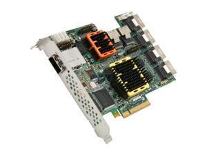 Adaptec RAID 52445 2258700-R SATA/SAS 28-port (24 internal,4 external) w/ 512MB cache memory Controller Card, Single