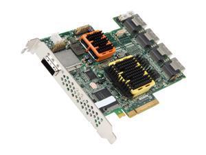 Adaptec RAID 51645 2258600-R SATA/SAS 20-port (16 internal,4 external) w/ 512MB cache memory Controller Card, Single