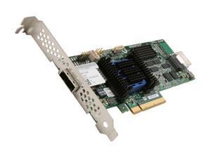 Adaptec RAID 6445 2270200-R 6Gb/s SATA/SAS 8-port (4 internal,4 external)  w/ 512MB cache memory Controller Card, Single
