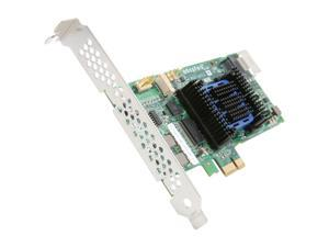 Adaptec RAID 6405E 2270800-R 6Gb/s SATA/SAS 4 internal ports w/ 128MB cache memory Controller Card, Single