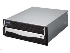 "SANS DIGITAL AccuRAID AR424I RAID 0/1/0+1/3/5/6/30/50/60, JBOD 24 x Hot-Swappable 3.5"" Drive Bays 4U 24 Bay 4xGbE iSCSI to SAS/SATA RAID 6 Upgradable to Redundant Controller"