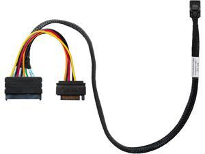 HighPoint 8643-8639-50 Cable - SFF-8643 to U.2 SFF-8639 Connector with 15-pin SATA Power Connector