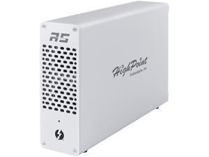 HighPoint RocketStor RS6661A-NVMe Thunderbolt 3 to NVMe RAID Adapter