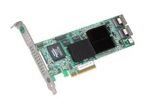 3ware 9690SA-8I-SGL, Low Profile, Internal SAS/SATA Hardware RAID Controller Card,  PCI Express x8, w/ 3Gb/sec, RAID 0, 1, 5, 6, 10, 50 and Single Disk - Single