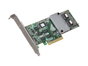 3ware Internal 9750-8i SATA/SAS 6Gb/s PCI-Express 2.0 w/ 512MB onboard memory Controller Card, Single